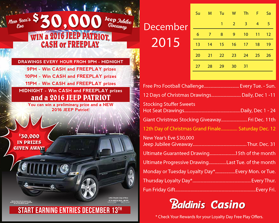 Baldini's Sports Casino Reno