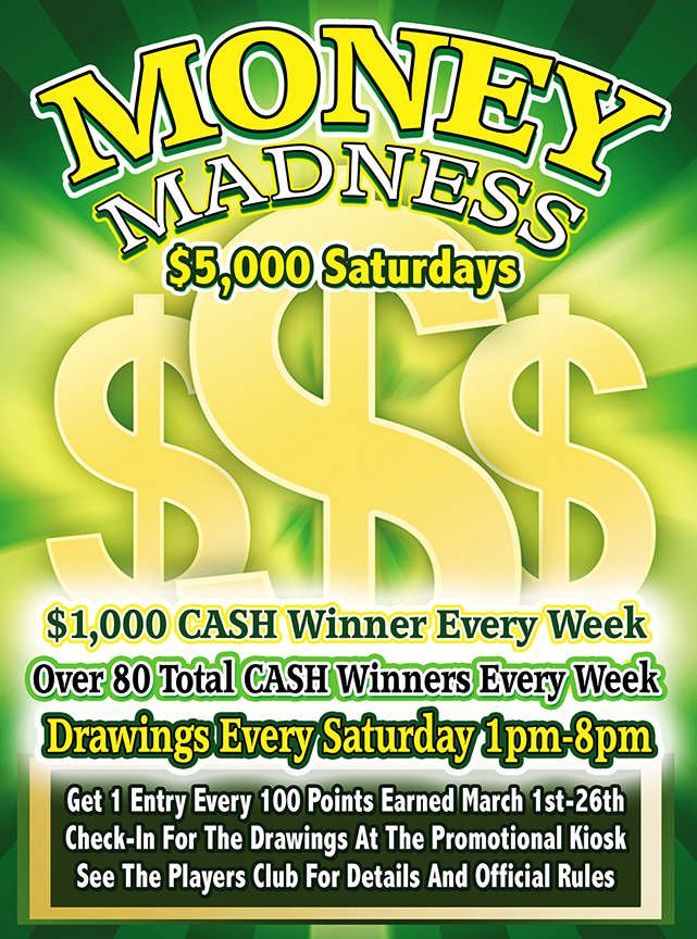 Money Madness Cash Giveaway