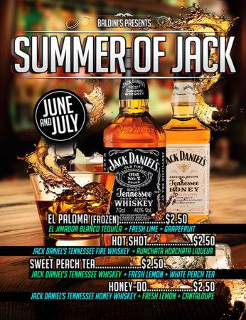 Jack Daniel's Drink Specials Baldini's Casino Sparks Nevada