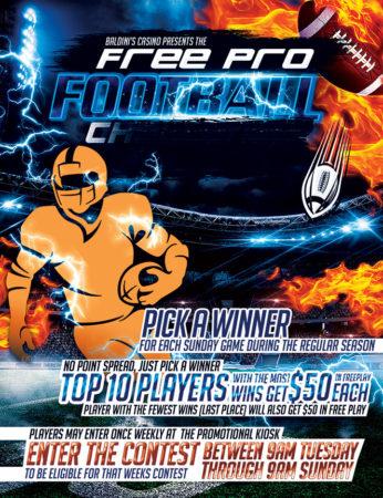 Free Pro Football Challenge To Win Money Sparks Nevada Baldinis