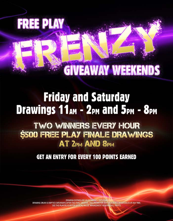 Free Play Frenzy Poster Build
