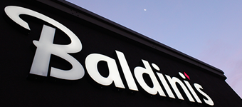 Baldini's Sports Casino Sign
