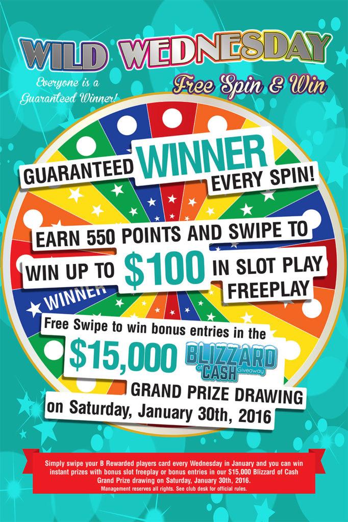 Wild Wednesday – Baldini's Sports Casino