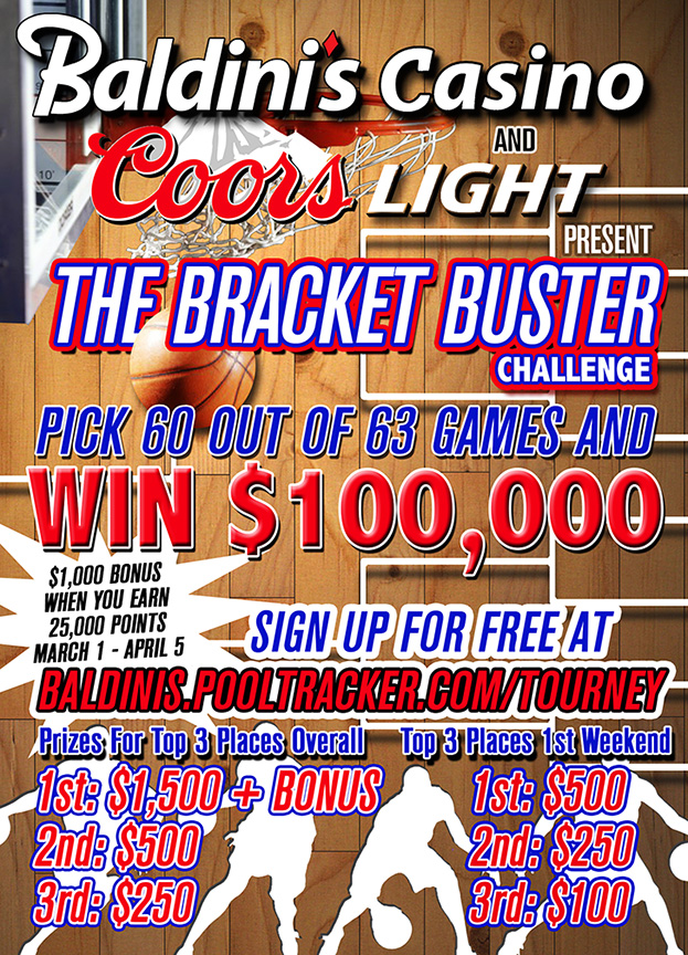 The Bracket Buster Challenge – Win $100,000 March Madness