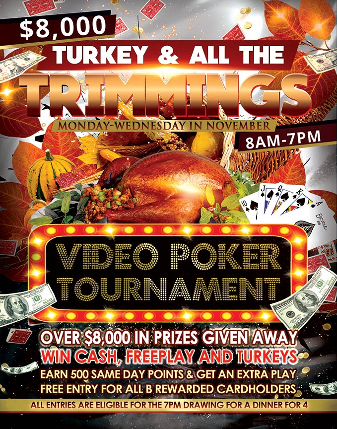 Video Poker Tournament